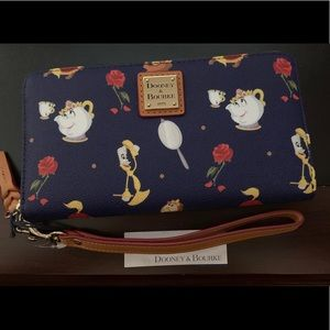 Beauty and the beast wallet by Dooney and Bourke